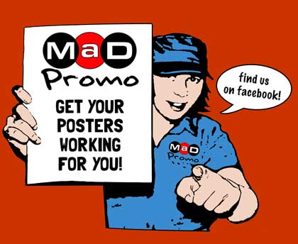 MaD Promo Distribution : Posters, Flyers, Festival Guides